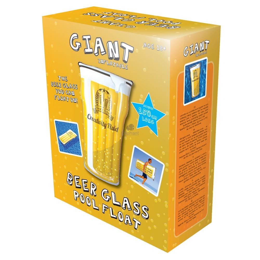 Beer OClock Pint Glass Pool  Float