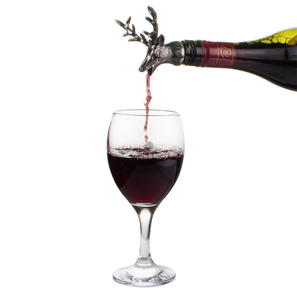 Vinology Stag Bottle Stopper/Pourer
