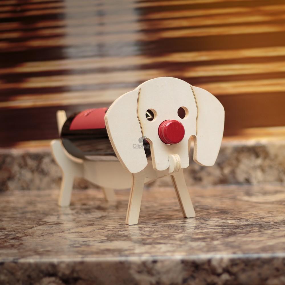 Vinology Sausage Dog Bottle Holder