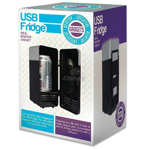 Executive Desktop Gadget USB Fridge