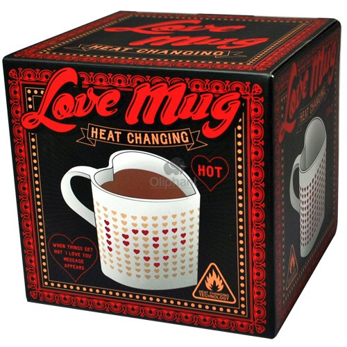 Be Mine Heat Changing Love Mug