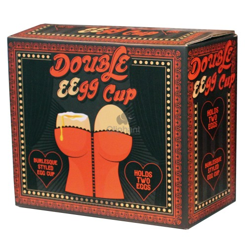 Be Mine Novelty Double EEggs Cups