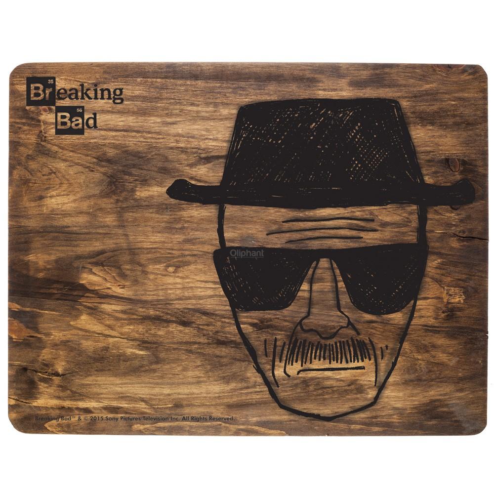 Breaking Bad Heisenberg Wooden Chopping Board