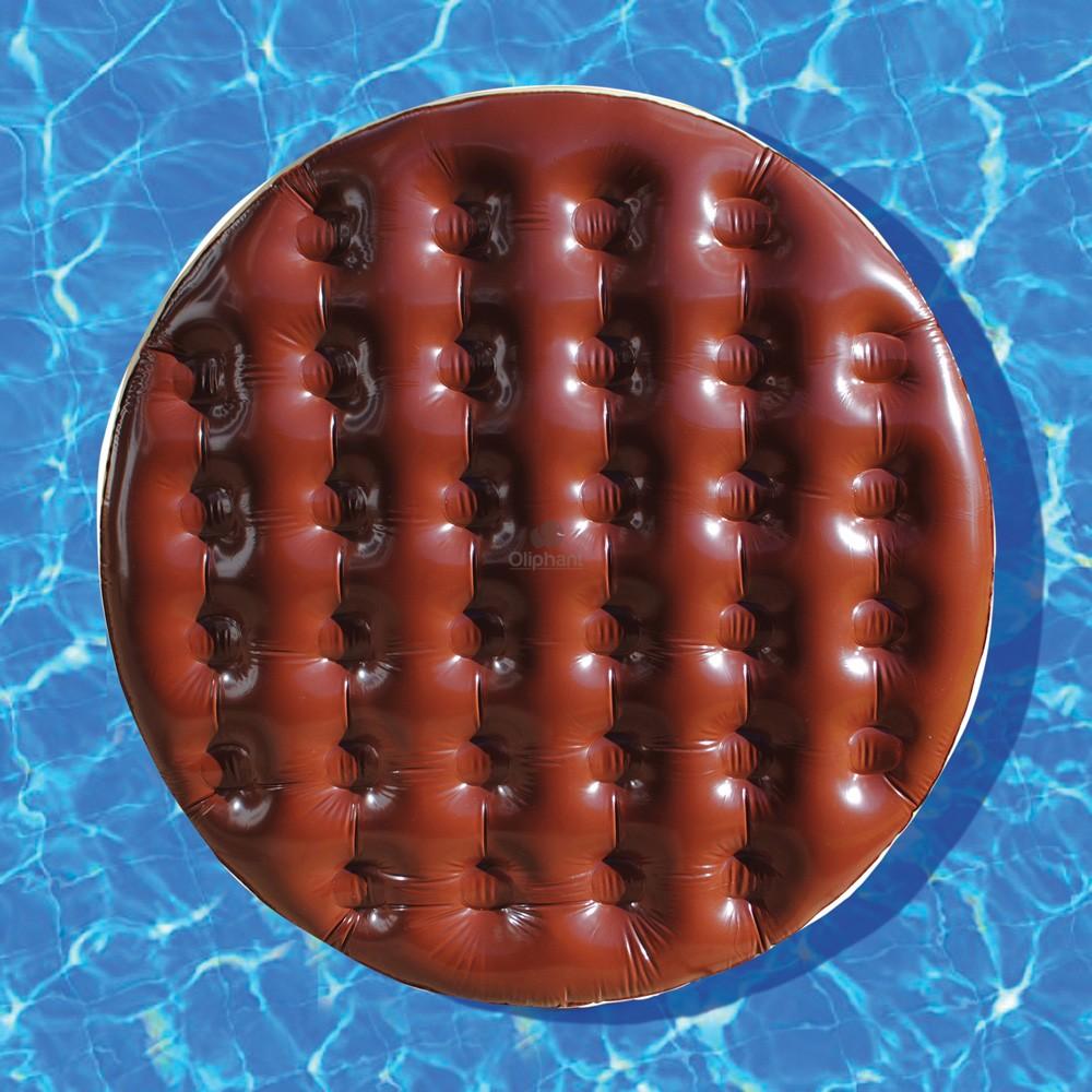Chocolate Digestive Pool Float