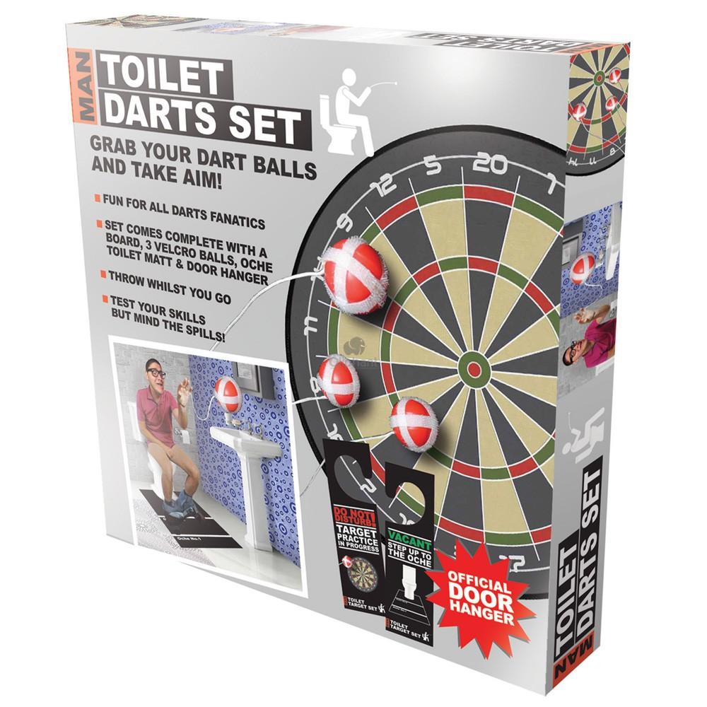 Man Toilet Darts