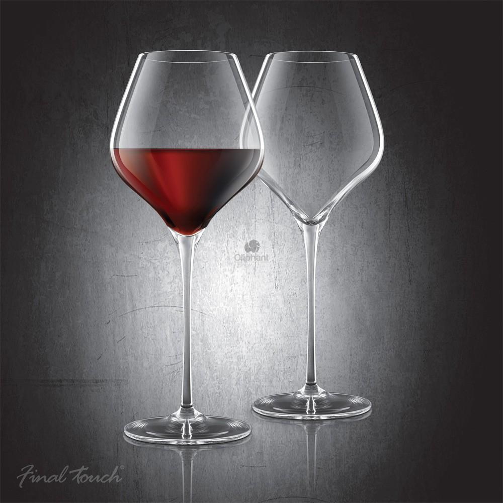 Final Touch Durashield Bordeaux Glass 2 Pk
