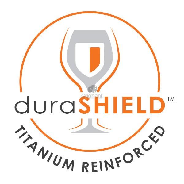 Final Touch Durashield Gin Glasses 2 pk