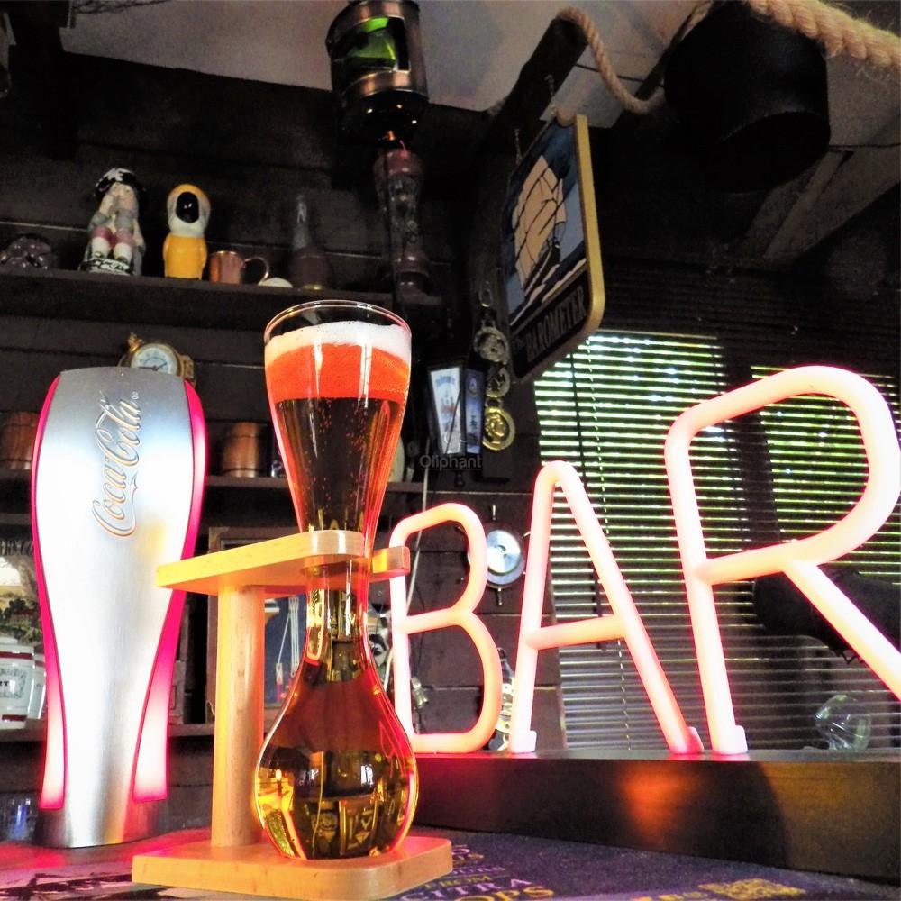 Bar Bespoke Quarter Yard Glass