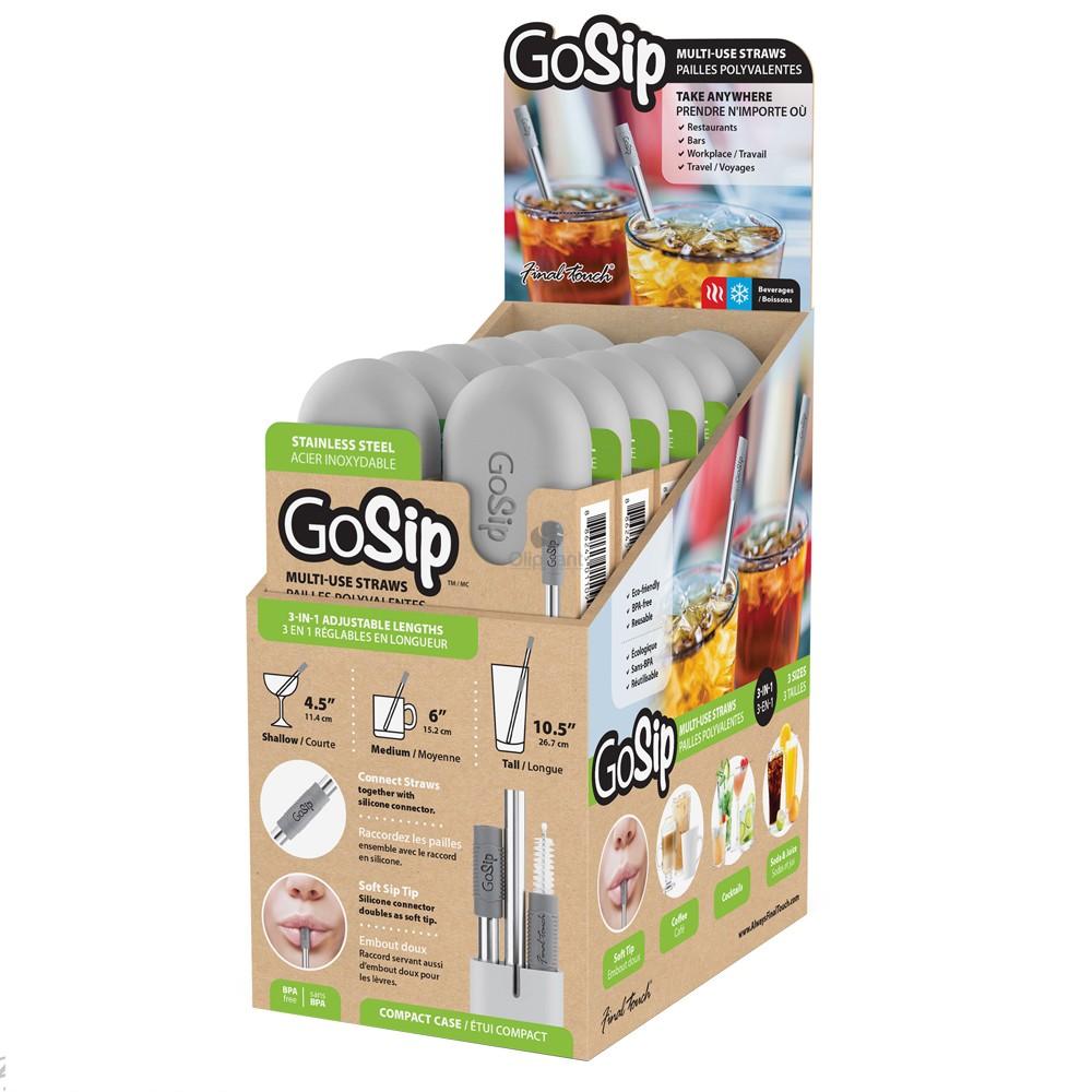 Final Touch GoSip s/steel straw