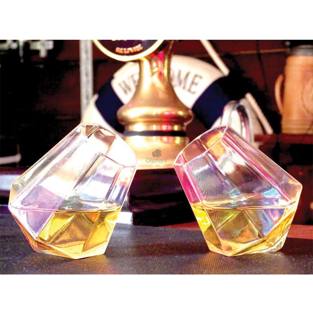 Bar Bespoke Diamond Shot Glass (Pack of 2)