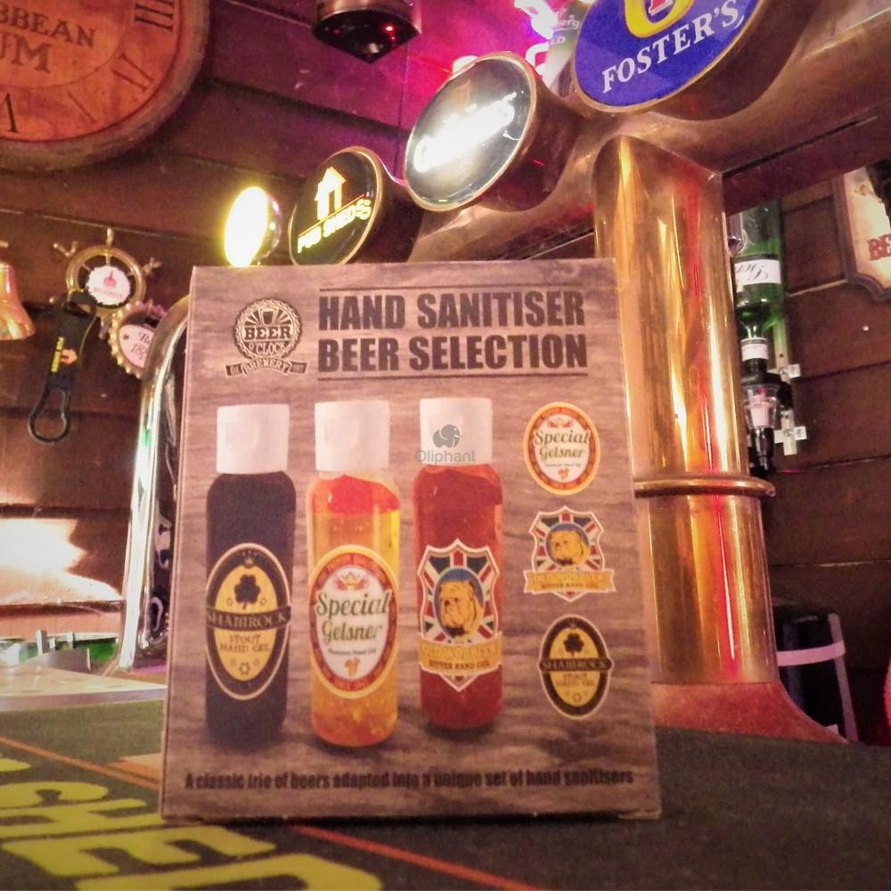 Beer OClock Hand Sanitiser Gel Pack of 3 x 60ml