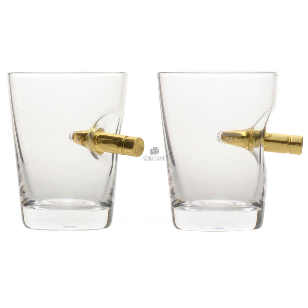 Bar Originale Take the Shot 2 Pack Crystal Glasses