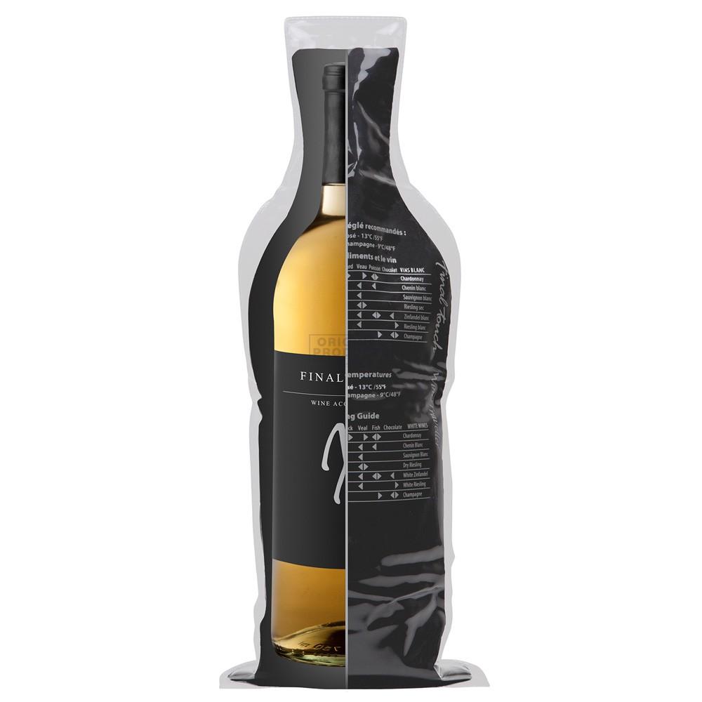 Final Touch Wine Traveller Black