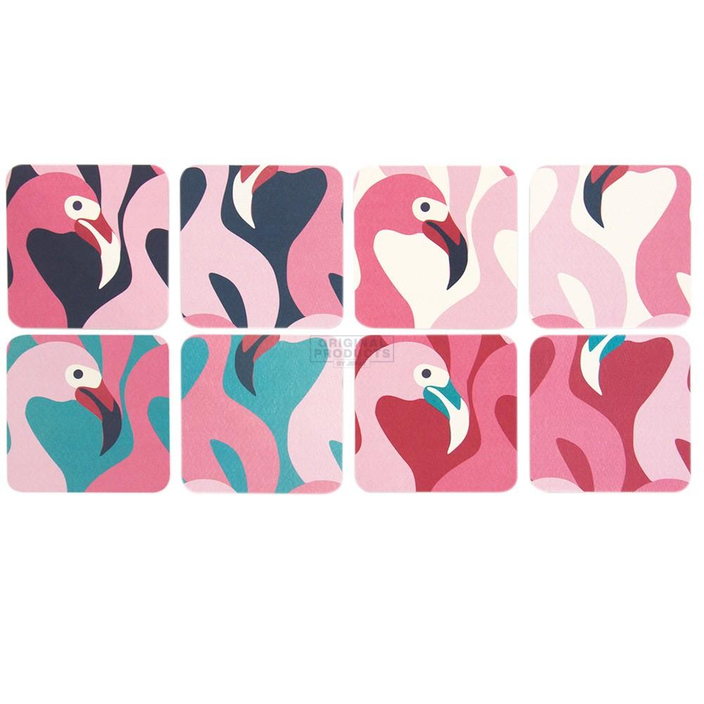 Flamingo Coaster 8 Pack
