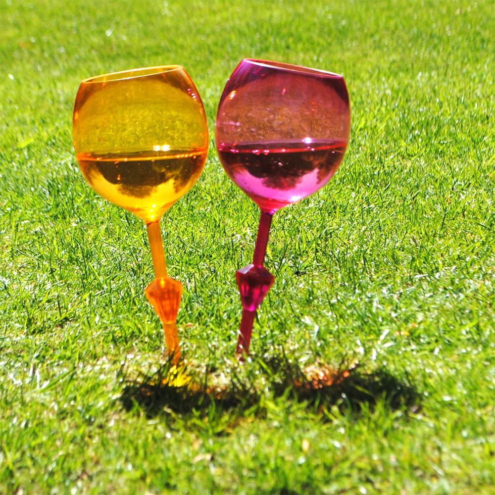 Bar Bespoke Floating Outdoor Stake Wine Glass
