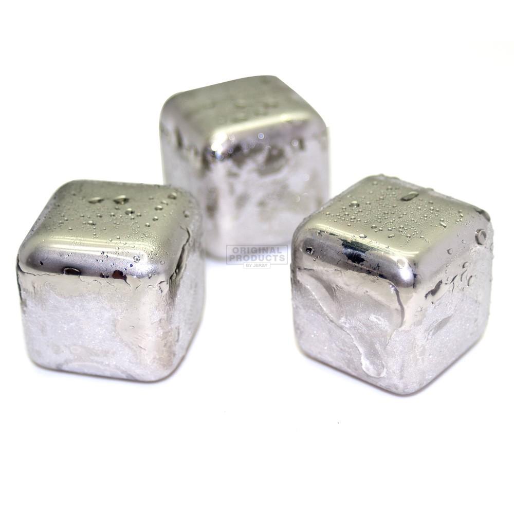 Rocks of Steel Ice Cubes 6pks