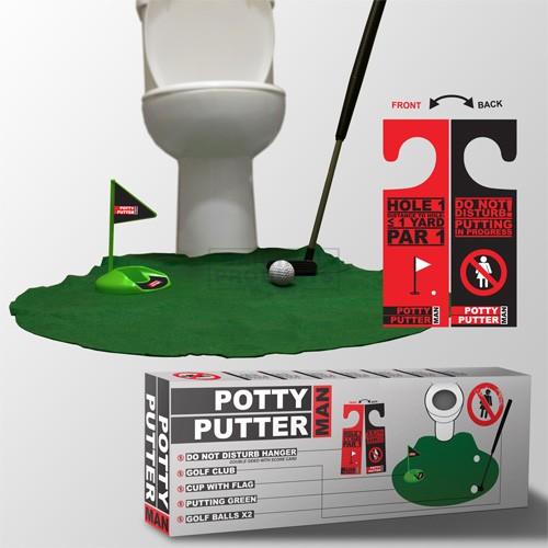 MAN Potty Putter