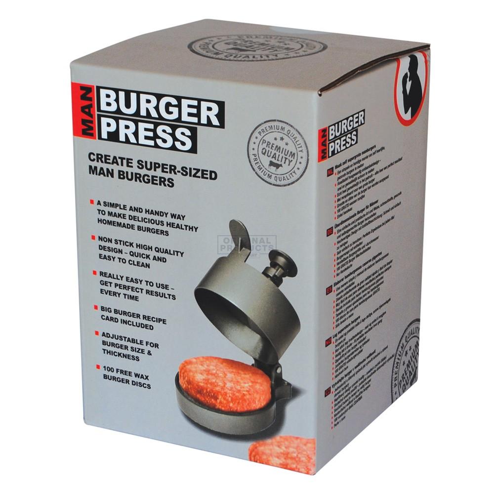 Man Burger Press