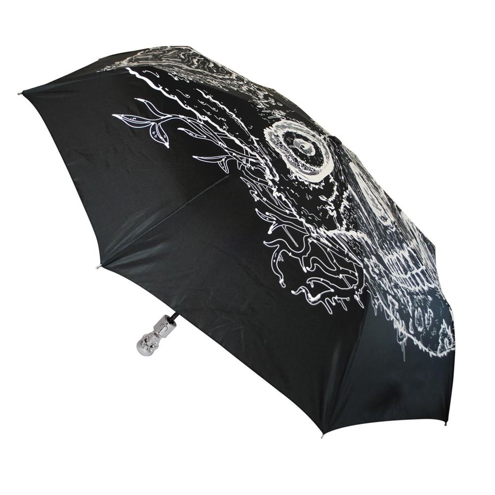 Skull Umbrella Glow In The Dark