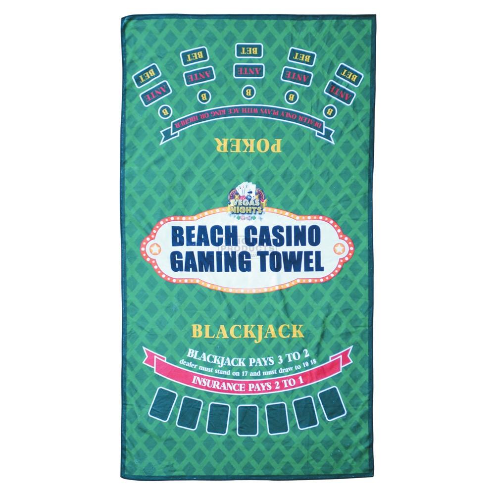 Vegas Nights Gaming Towel