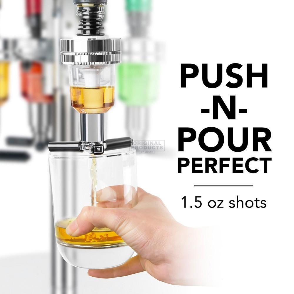 Final Touch LED 6 Bottle Bar Caddy