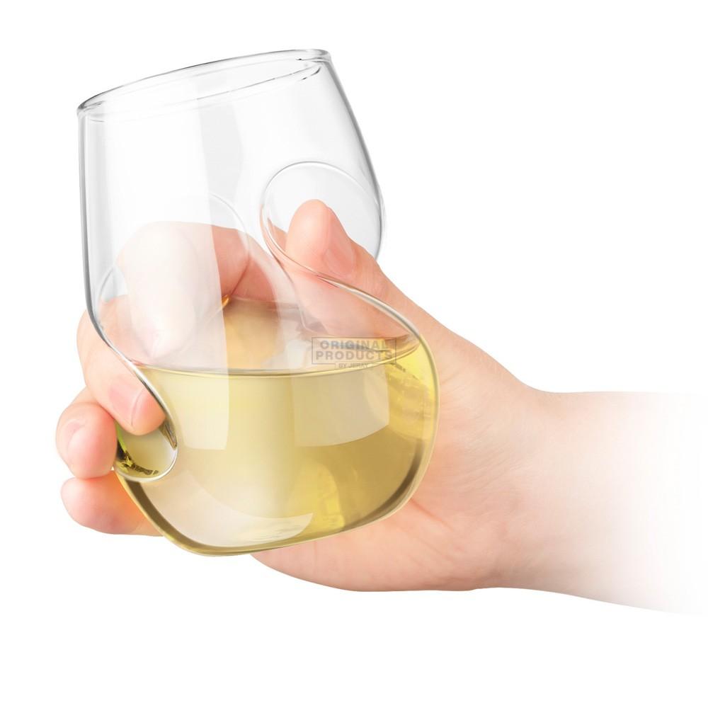 Final Touch Conundrum White Wine Glasses 4pk