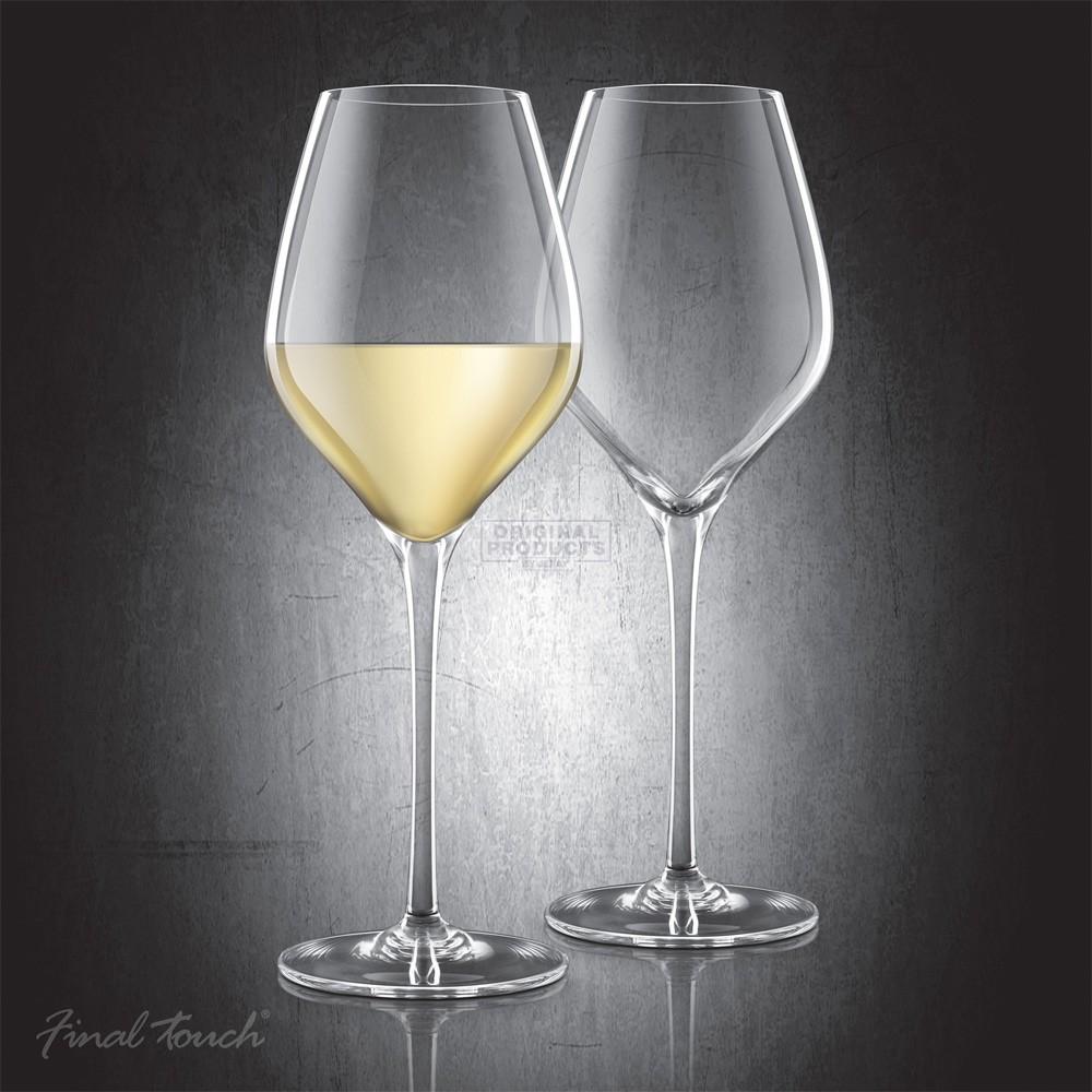 Final Touch Durashield White Wine Glass 2 Pk