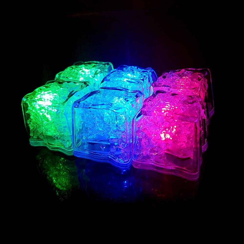 Mixology Flashing Ice Cubes 6 Pk