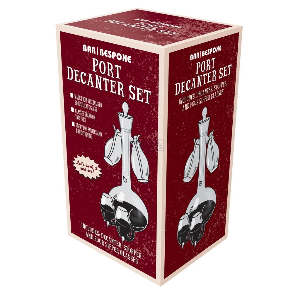 Bar Bespoke Port Decanter & Sipper Set