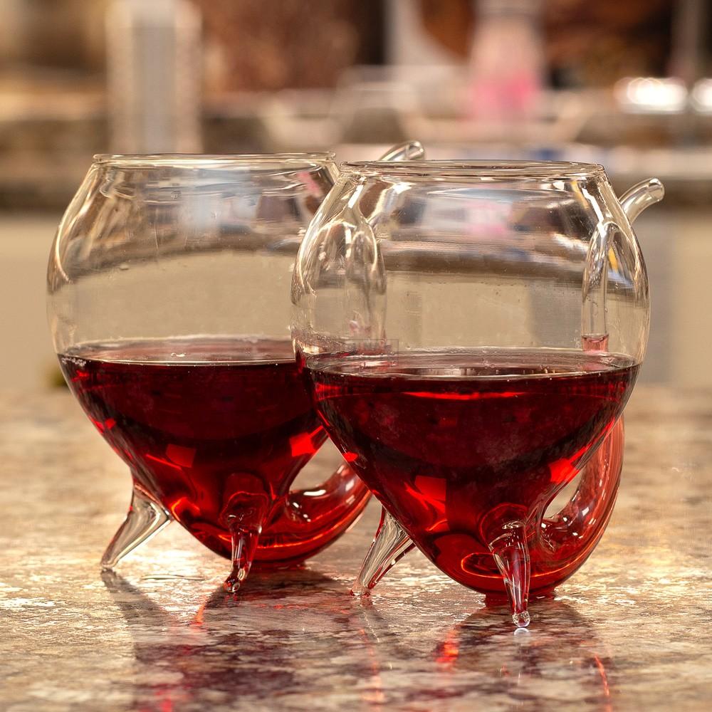 Bar Bespoke Wine Sippo Glasses 2 pk