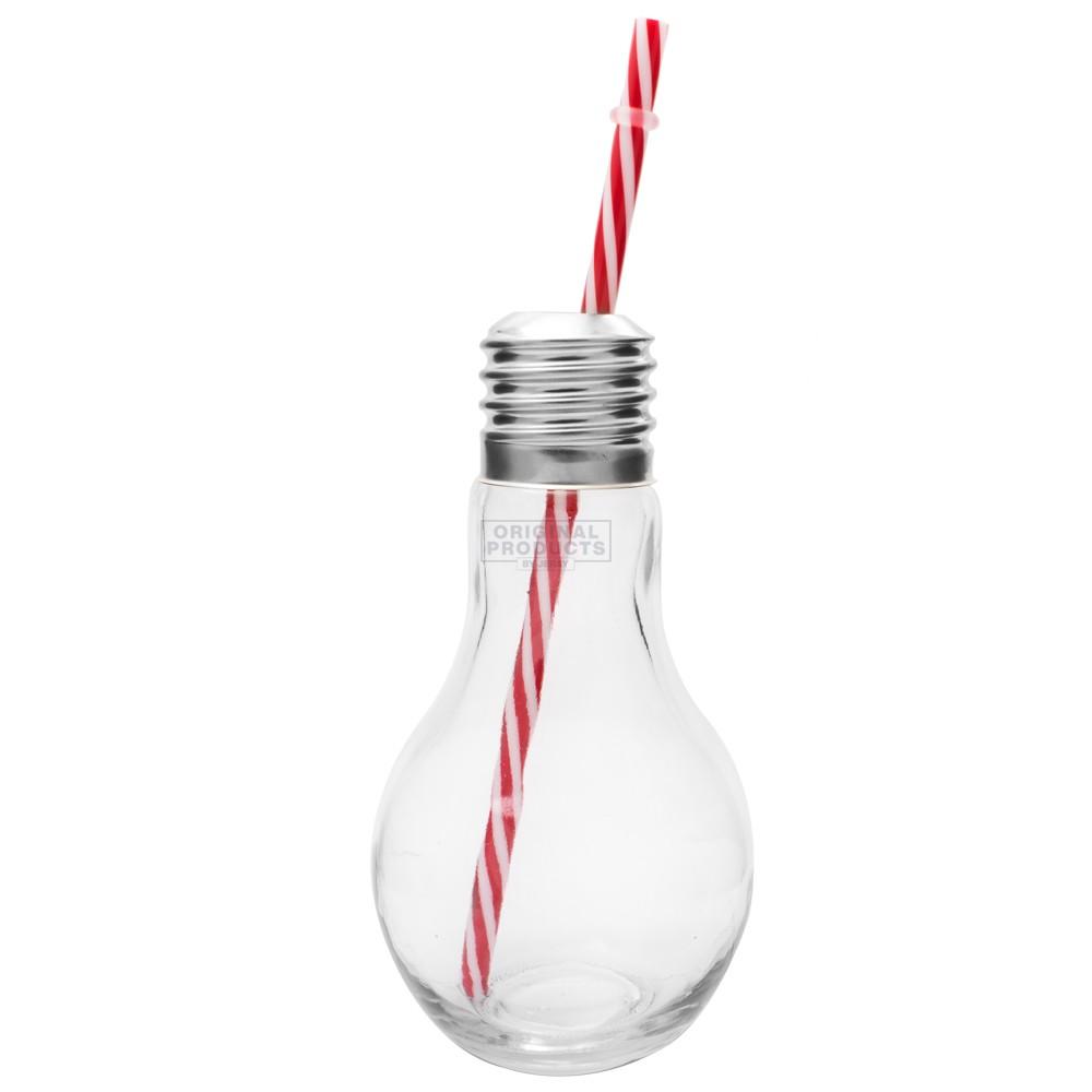 Light Bulb Glass Single