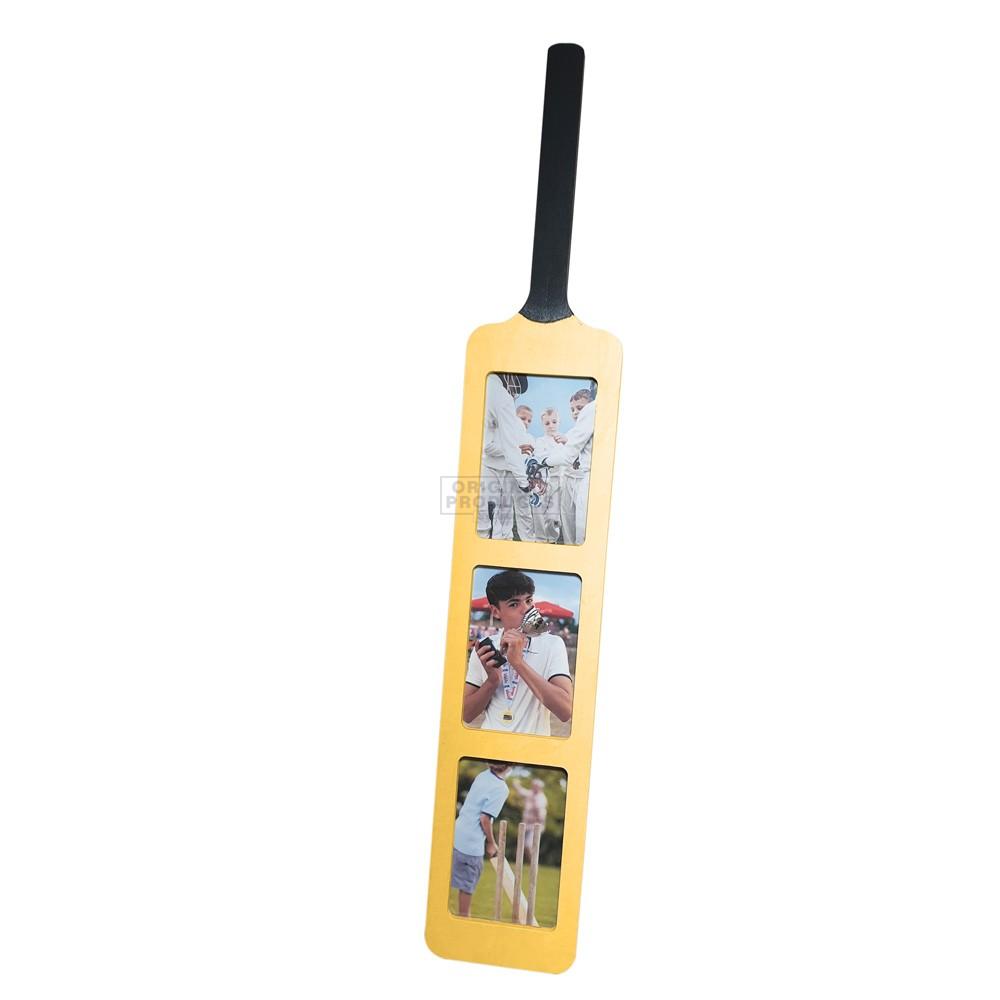 Cricket Bat Picture Frame
