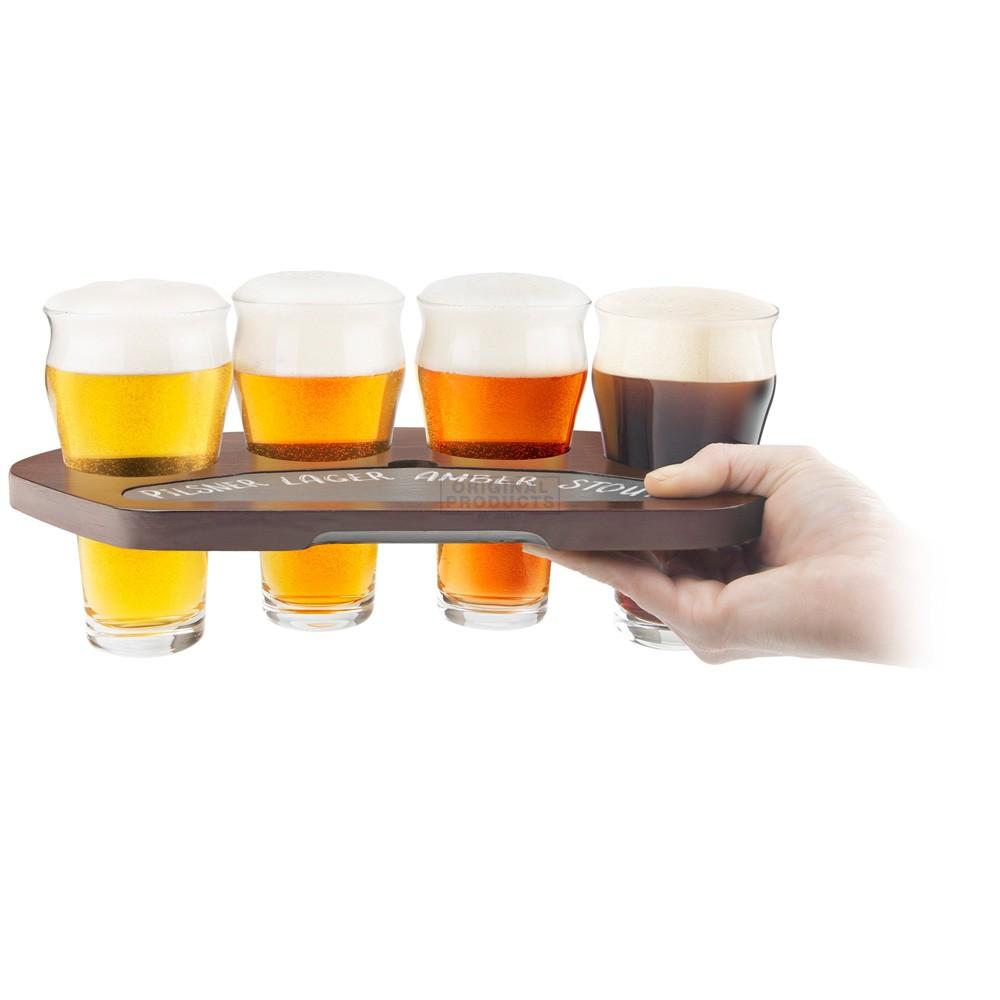 Final Touch Craft Beer Flight Set