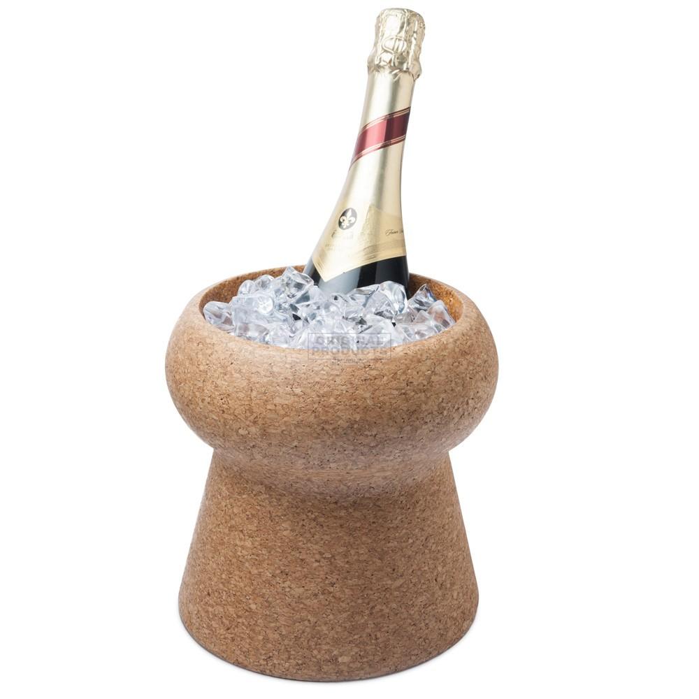 Final Touch Champagne & Wine Cork Beverage Bin