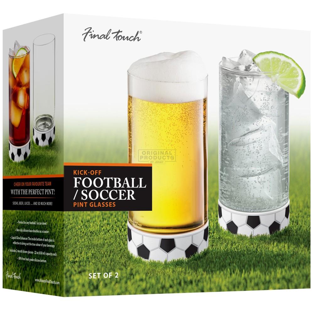 Final Touch Kick-Off Pints Set of 2