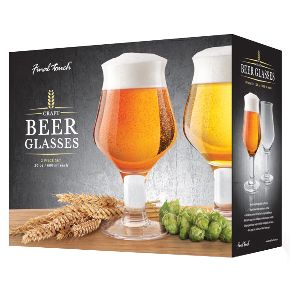 Final Touch Craft Beer Glasses